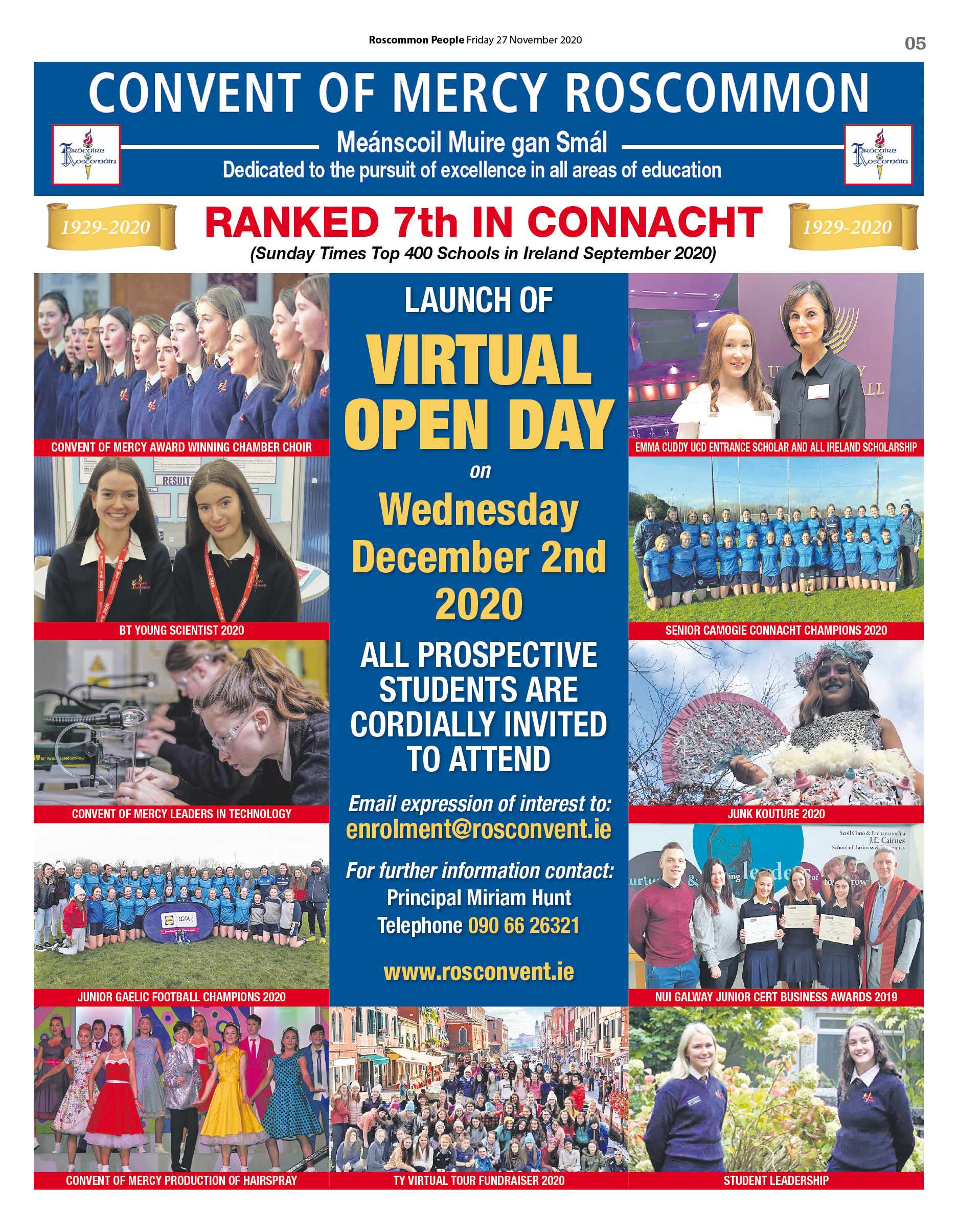 Virtual Open Day Poster